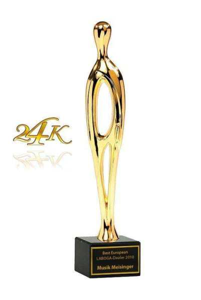 Contemporary Sales Award 24K Gold