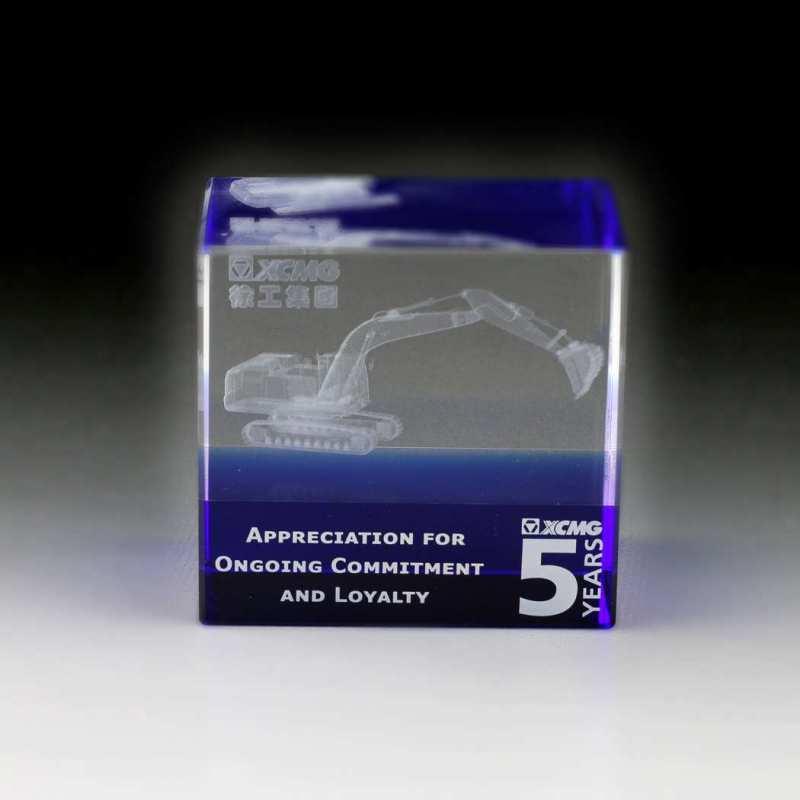 3D-Innengravur der Bagger wurde nach Fotos erstellt
