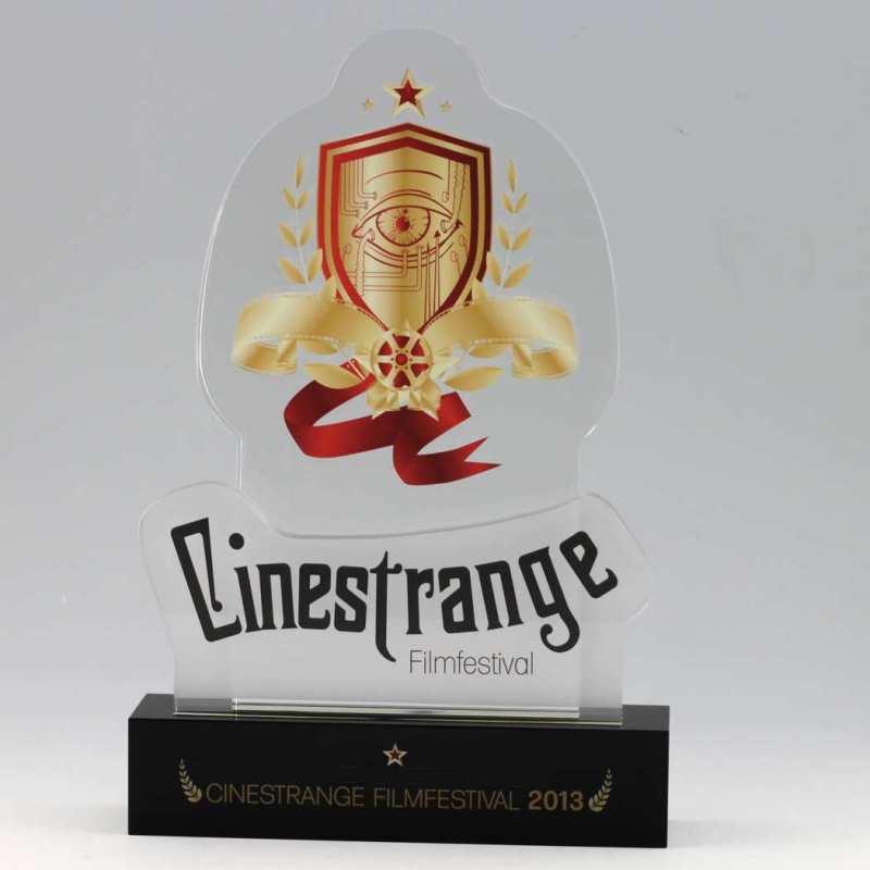 Design-Award aus Kristallglas