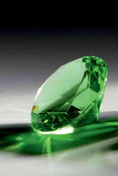 Portici Glasdiamant in Grün