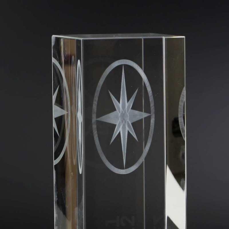 Laserinnengravur im Kristallglas