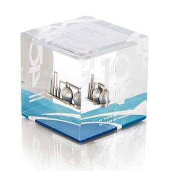 Acrylglas-Würfel mit Einschluss